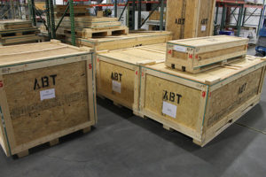 custom built crates for shipping large items